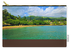 Island Of Maui Carry-all Pouch by Michael Rucker