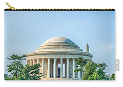 Jefferson Memorial Carry-all Pouch by Ray Warren