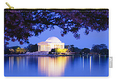 Jefferson Memorial, Washington Dc Carry-all Pouch by Panoramic Images