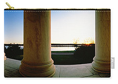 Jefferson Memorial Washington Dc Usa Carry-all Pouch by Panoramic Images