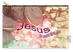 Jesus Is The Sweetest Name I Know Carry-all Pouch