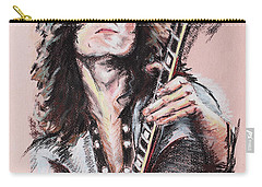 Jimmy Page Carry-all Pouch by Melanie D