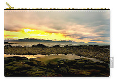 Carry-all Pouch featuring the photograph Kaikoura Coast New Zealand by Amanda Stadther