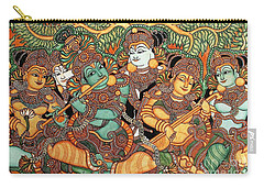 Kerala Mural Painting Carry-all Pouch