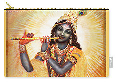 Krishna With The Flute Carry-all Pouch