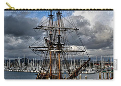 Carry-all Pouch featuring the photograph Lady Washington by Michael Gordon