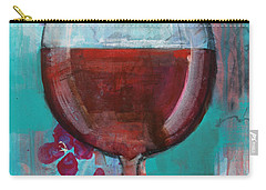 Carry-all Pouch featuring the painting Let It Breathe by Robin Maria Pedrero