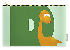 Letter D Carry-all Pouch by Gina Dsgn
