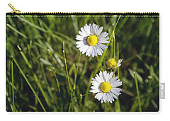 Little White Daisies Carry-all Pouch