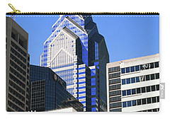 Low Angle View Of Skyline In Downtown Carry-all Pouch