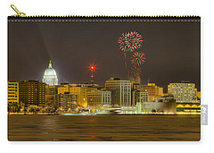 Madison New Years Eve Carry-all Pouch by Steven Ralser