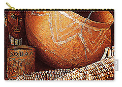 New Orleans Maize The Indian Corn Still Life In Louisiana  Carry-all Pouch by Michael Hoard