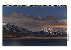 Mammoth At Night Carry-all Pouch by Cat Connor