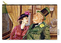 Margaret And W.c. Fields Carry-all Pouch
