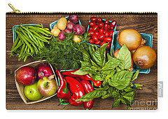 Market Fruits And Vegetables Carry-all Pouch