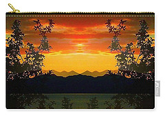 Carry-all Pouch featuring the photograph Marsh Lake - Yukon by Juergen Weiss