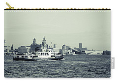 Mersey Ferry Carry-all Pouch by Spikey Mouse Photography