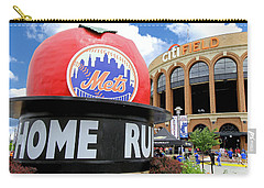 Mets Home Run Apple Carry-all Pouch