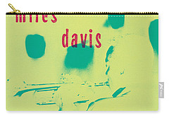 Miles Davis -  Blue Moods Carry-all Pouch