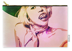 Miley Cyrus Carry-all Pouch by Svelby Art