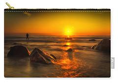 Montauk New York Summer Sunrise Carry-all Pouch