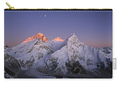 Moon Over Mount Everest Summit Carry-all Pouch