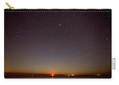 Moonrise On Tybee Island Carry-all Pouch