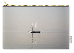 Carry-all Pouch featuring the photograph Morning Mist by George Katechis