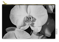 Moth Orchid Bw Carry-all Pouch