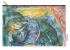 Mother And Child Carry-all Pouch by Diana Bursztein