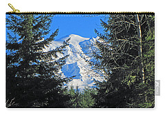 Carry-all Pouch featuring the photograph Mt. Rainier I by Tikvah's Hope