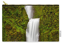 Multnomah Falls Carry-all Pouch by Patricia Davidson
