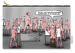 Naked Artists Carry-all Pouch