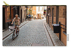 Narrow Stockholm Street Sweden Carry-all Pouch