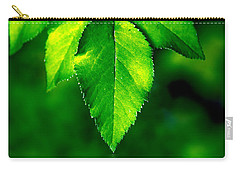 Natural Leaves Background Carry-all Pouch