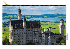 Neuschwanstein Castle - Bavaria - Germany Carry-all Pouch by Gary Whitton