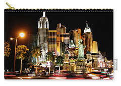 Carry-all Pouch featuring the photograph New York Minute by Stuart Turnbull