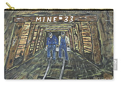 No Windows Down There In The Coal Mine .  Carry-all Pouch
