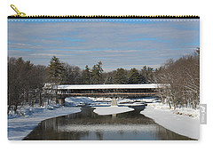 North Conway Covered Bridge  Carry-all Pouch