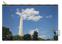 Obelisk Rises Into The Clouds Carry-all Pouch