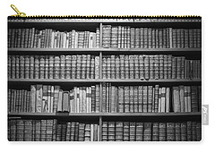 Carry-all Pouch featuring the photograph Old Books by Chevy Fleet