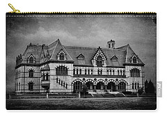 Old Post Office - Customs House B/w Carry-all Pouch by Sandy Keeton