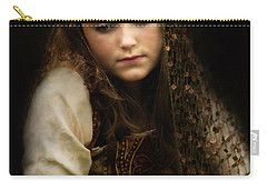 Carry-all Pouch featuring the photograph Olivia by John Rivera