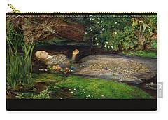 Ophelia Carry-all Pouch by John Everett Millais