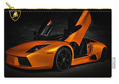 Orange Murcielago Carry-all Pouch by Douglas Pittman