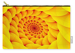 Yellow Pillow Vortex Carry-all Pouch