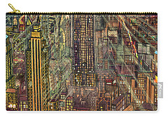 New York Mid Manhattan 1971 Carry-all Pouch