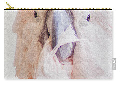 Carry-all Pouch featuring the photograph Parrot Flair by Roselynne Broussard
