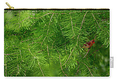 Carry-all Pouch featuring the photograph Peek A Boo by Elizabeth Winter