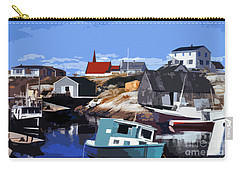Peggy's Cove Carry-all Pouch by Lydia Holly